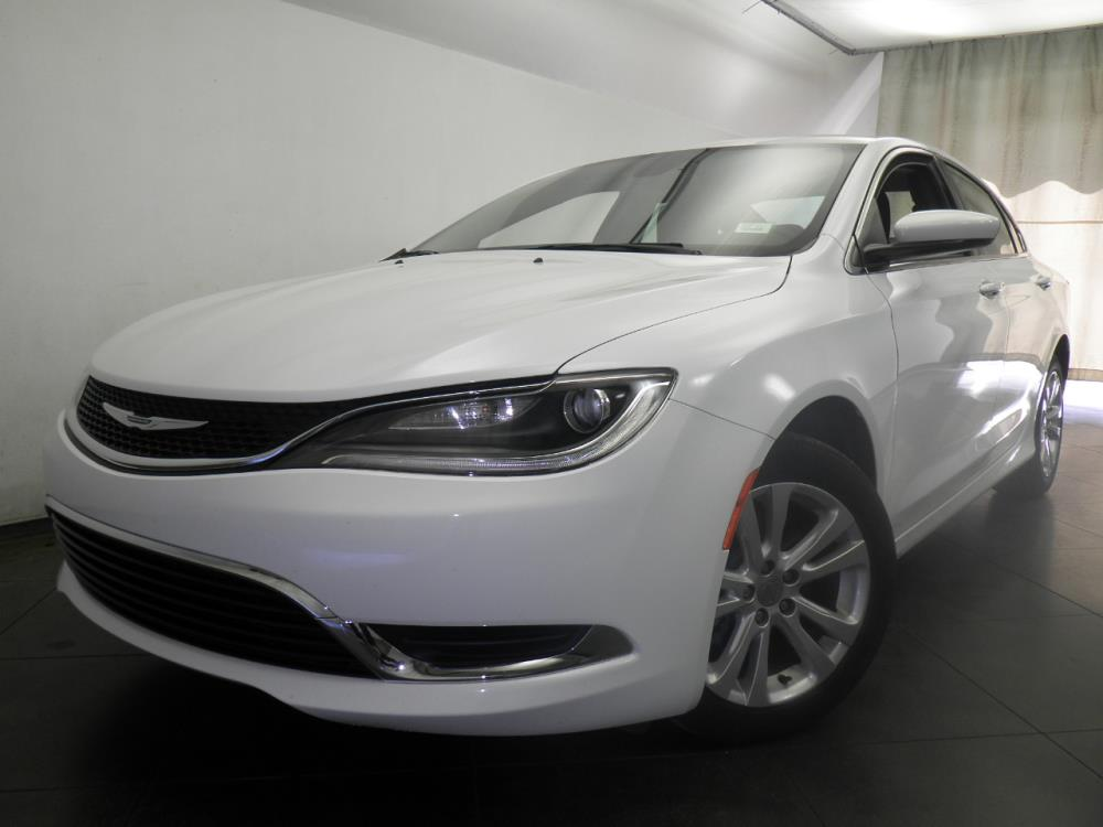 2016 Chrysler 200 {{CLBodyStyle}} Limited - BAD CREDIT OK!