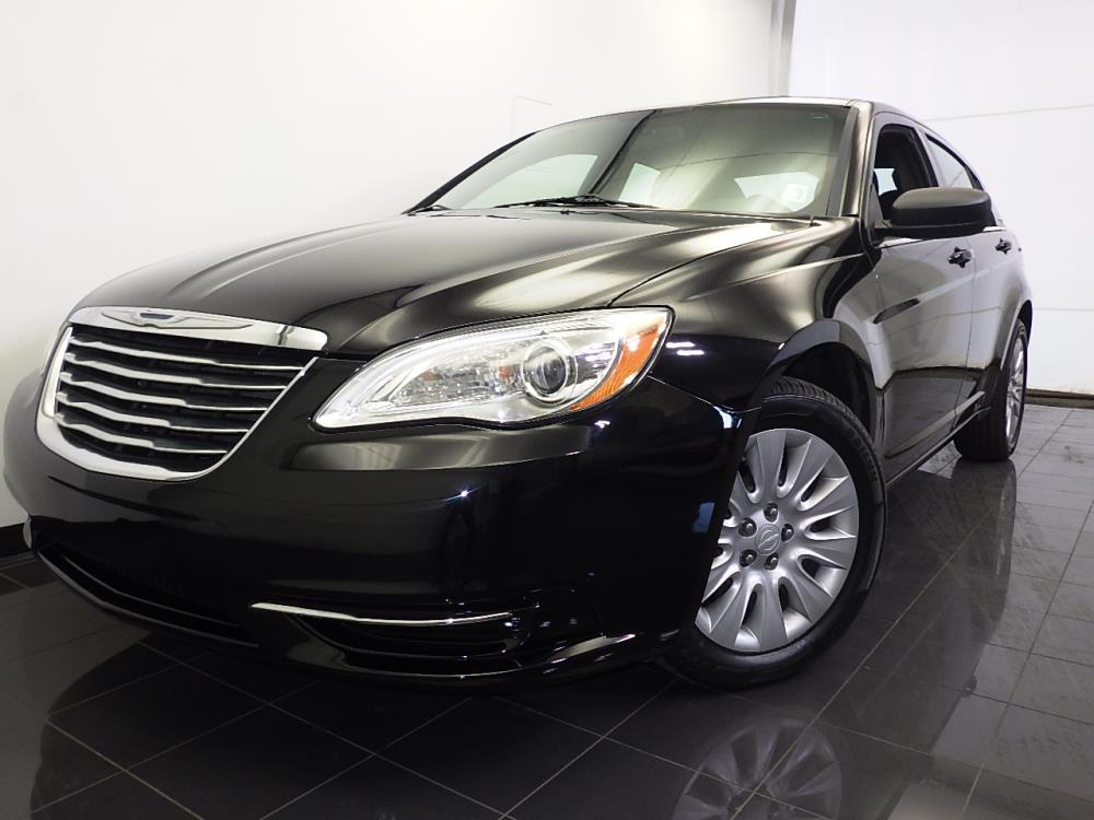 2012 Chrysler 200 {{CLBodyStyle}} LX