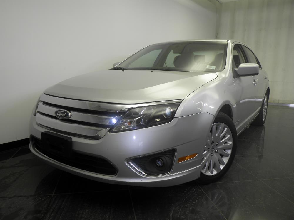 2011 ford fusion hybrid bad credit ok indianapolis new used. Cars Review. Best American Auto & Cars Review