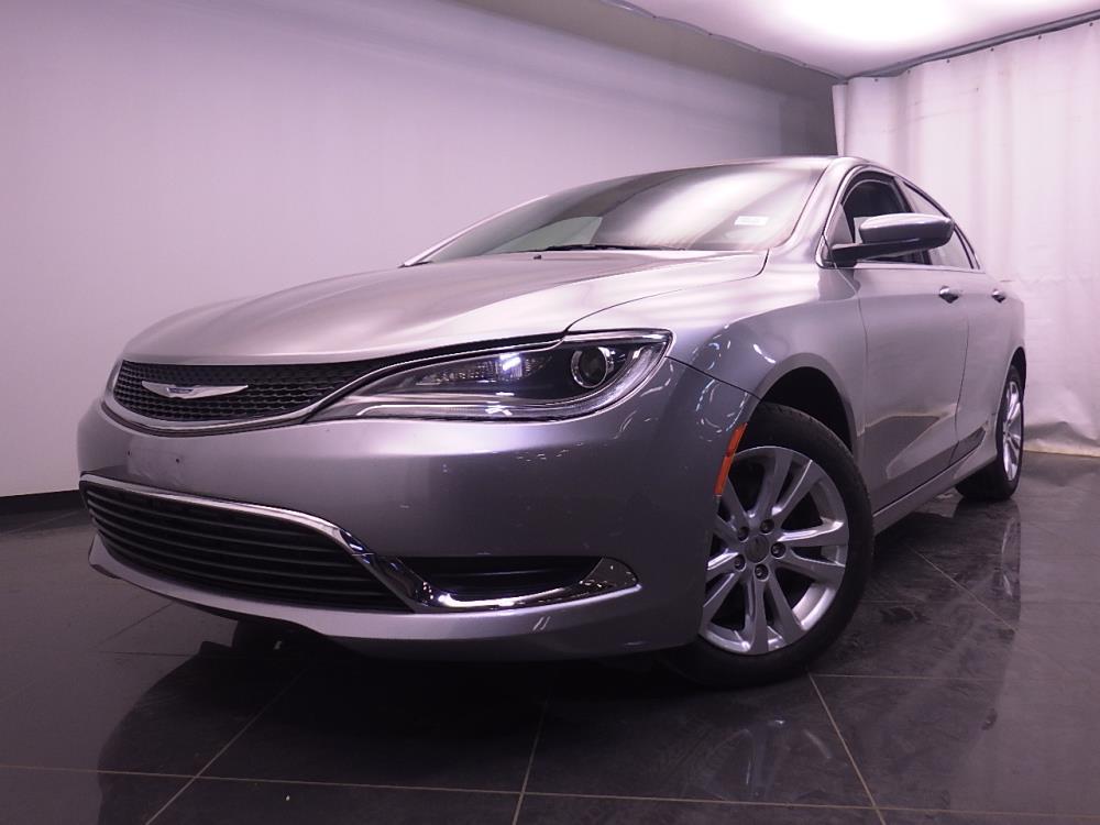 2015 Chrysler 200 {{CLBodyStyle}} Limited - BAD CREDIT OK!